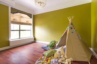 100平美式三居室儿童房效果图