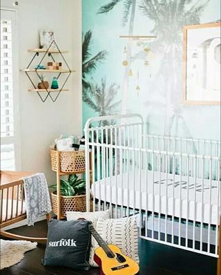 儿童房装修壁纸图片