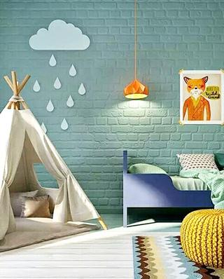 儿童房装修壁纸效果图设计