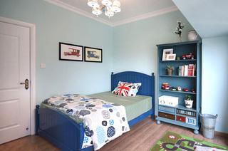 78平美式风格二居儿童房装修