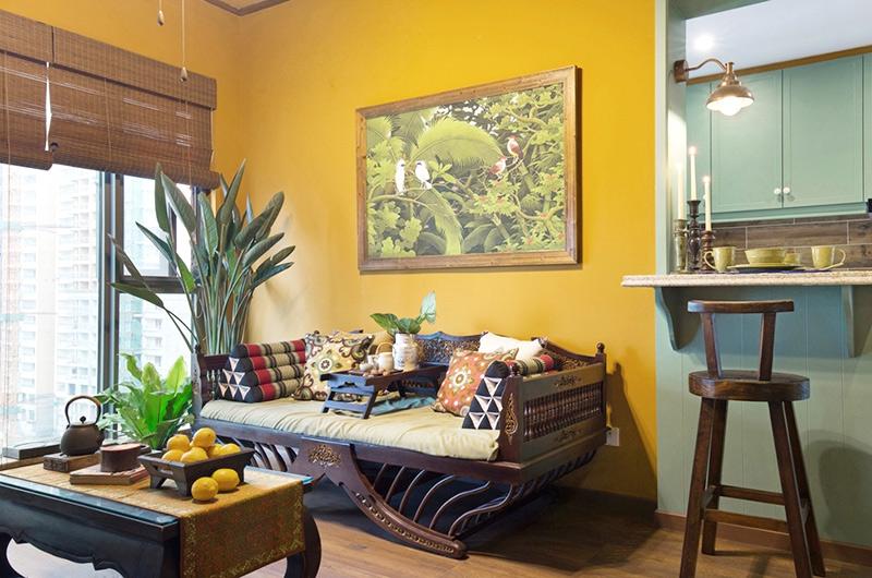 45平小户型一居客厅效果图