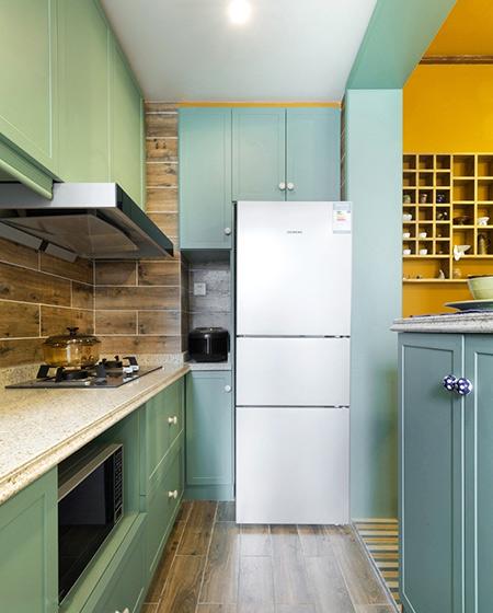 45平小户型一居厨房装修实景图