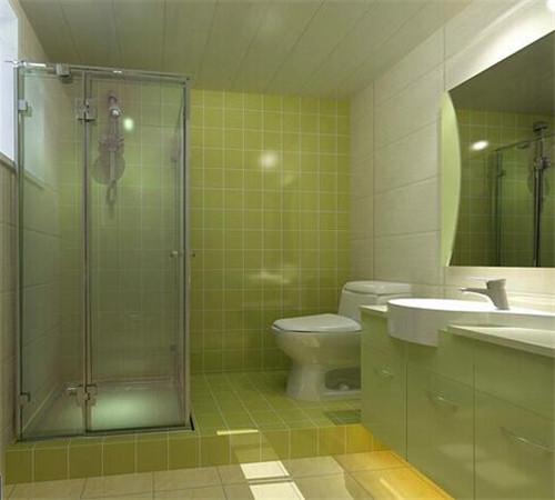 浴房装修效果图 隔断淋浴房让干湿分区更舒爽
