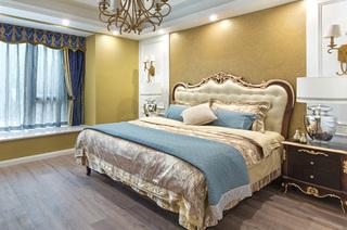236平复式楼装修主卧室设计图