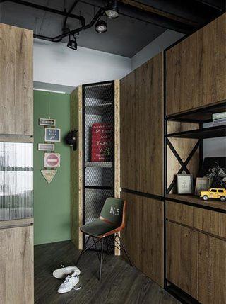 单身公寓玄关设计平面图