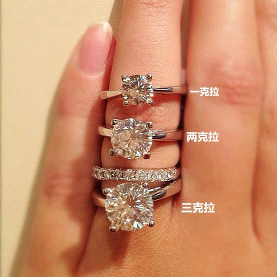 1克钻石多少钱 一克的钻石有多大图片