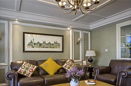 客厅装修吊顶效果图 美观大气客厅吊顶装修