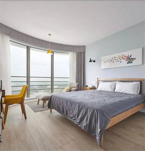 140房子装修效果图 140平北欧风展现清新柔和美