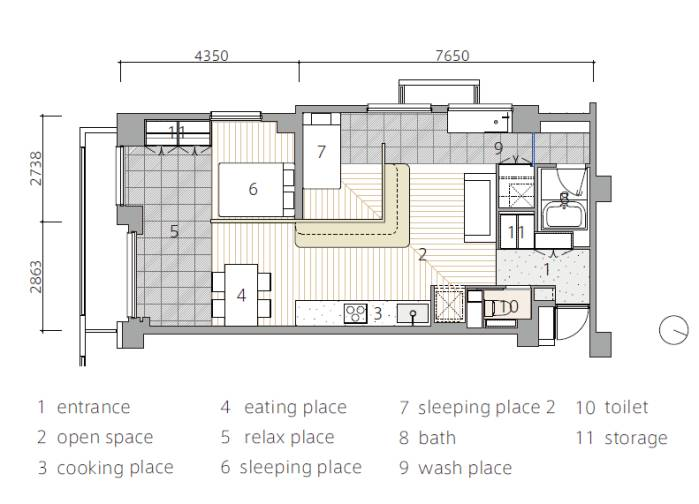 案例get| 日本浴室,廁所及洗手臺三分公寓圖片