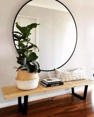 玄关镜子装饰效果图
