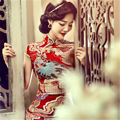 旗袍婚纱照片欣赏 旗袍婚纱照拍摄技巧有哪些图片