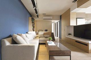 70平小户型装修客厅效果图设计