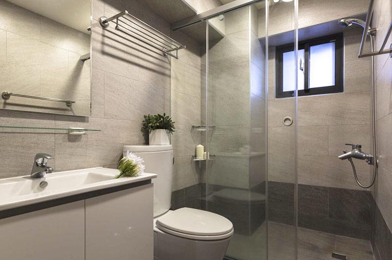 70平小户型装修淋浴房装修