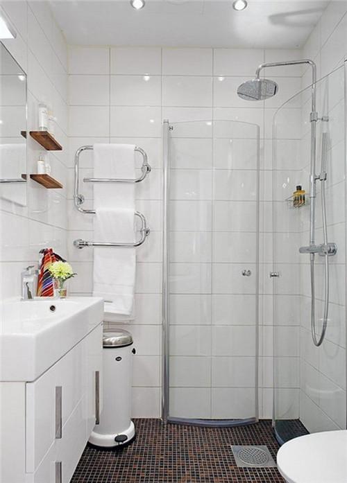 超小卫生间装修效果图大全 小小创意打造出精致的小浴室
