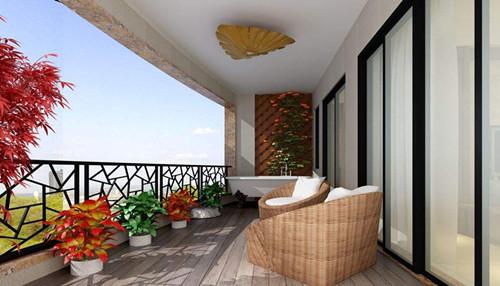 阳台吊顶装修效果图大全 4款创意阳台吊顶