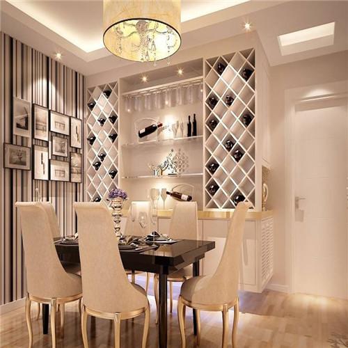 餐厅酒柜装修效果图 酒柜打造高品质生活
