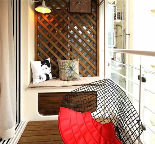 小阳台装修实景图 创意让小阳台变身实用空间_按空间_