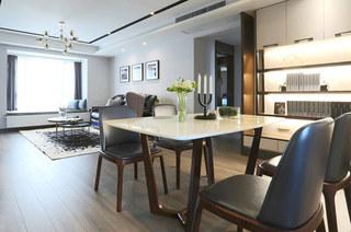 132平三房两厅装修家庭餐厅装修
