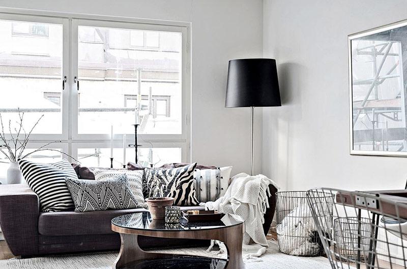 北欧风格一居室装修客厅设计图