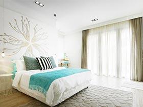 轻松生活家  10个现代极简风卧室设计图