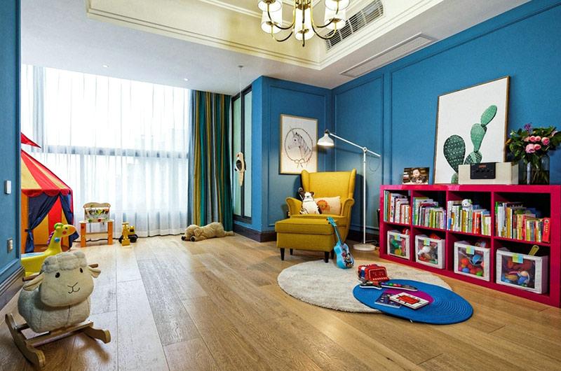 360平复式楼装修儿童房装修