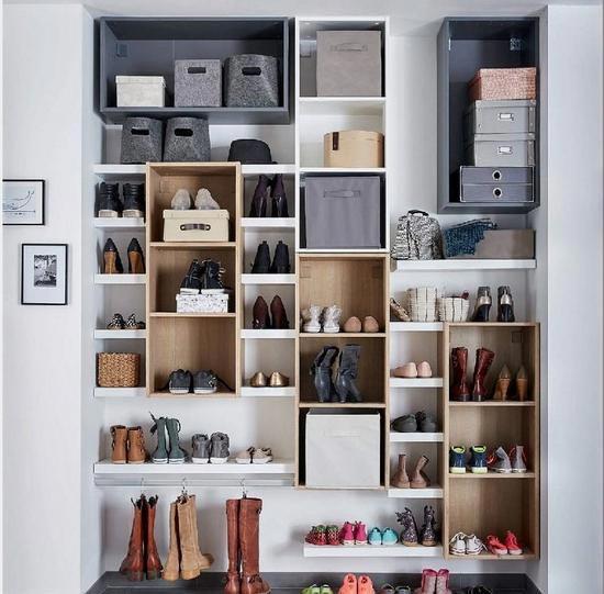 鞋柜摆放装修装饰效果图