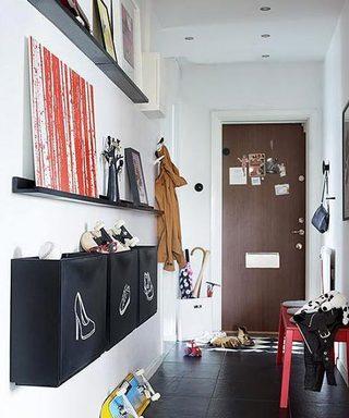 鞋柜摆放设计设计图