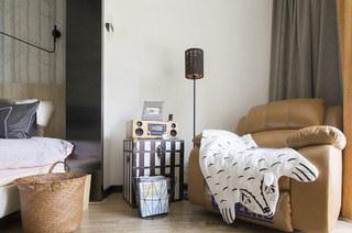 140平简约风格装修休闲沙发图片