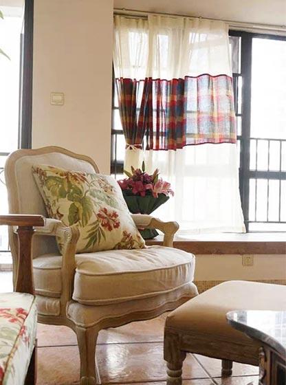 阳台沙发布置欣赏图片