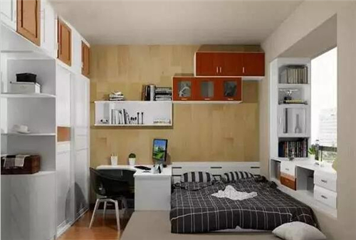 一房装修效果图5平米小户型也能这么装