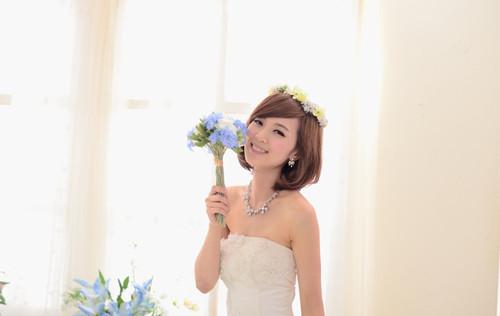 婚纱写真照欣赏 胖新娘拍照怎样摆姿势显瘦