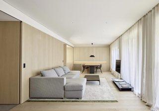 极简风现代客厅效果图