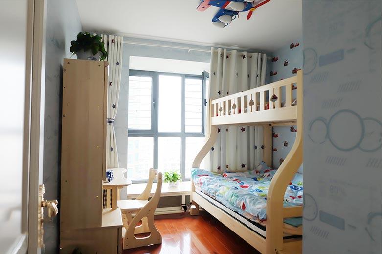 双人儿童房装修设计布置图片大全