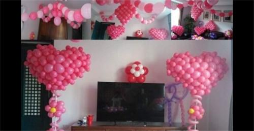 怎么用气球装饰婚房 婚房气球怎么扎