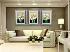 客厅背景墙壁画选择技巧 客厅壁画选择禁忌