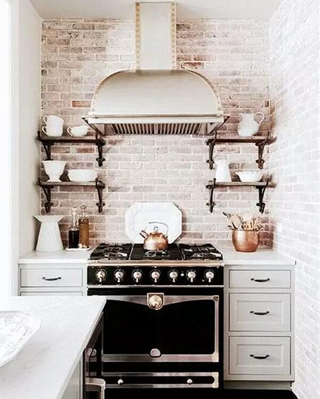 大户型厨房背景墙设计图