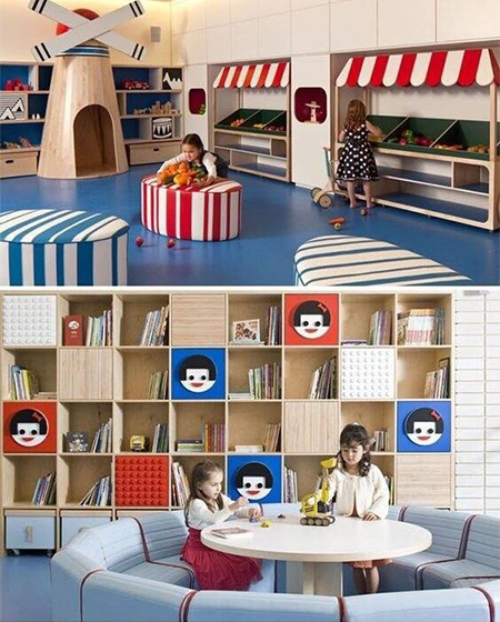 缤纷儿童活动室欣赏图片