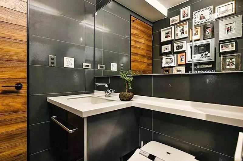 75平小二居装修卫生间装修