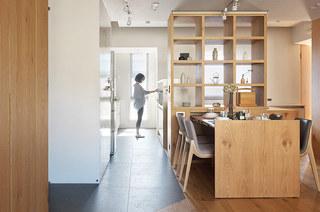简约风格二居室装修餐厅隔断装修