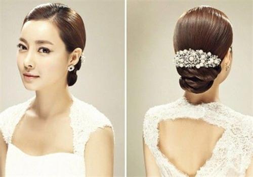 韩国新娘发型款式 新娘发型步骤