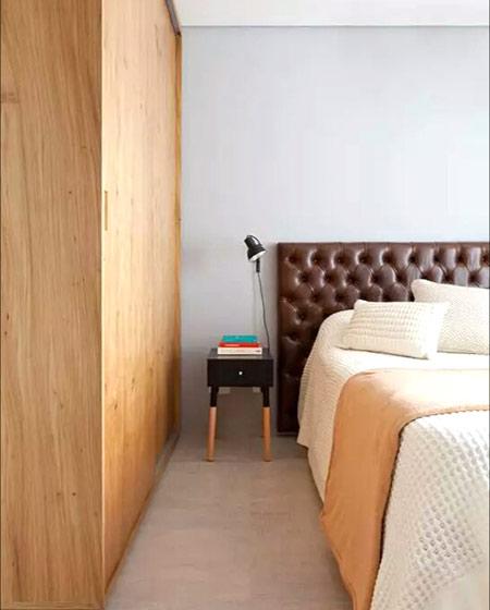 50平小户型一居卧室装修图