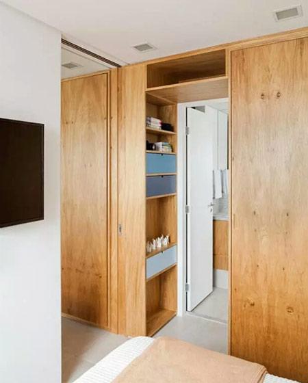 50平小户型一居卫生间收纳设计