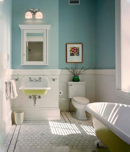 美式卫生间设计参考图