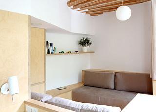 35平米小户型沙发平面图