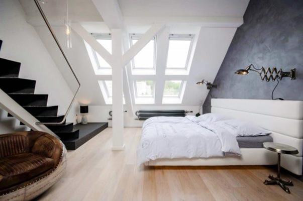 阁楼卧室设计构造图
