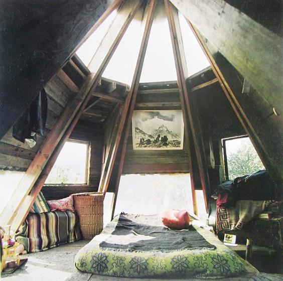 森系阁楼卧室装修平面图