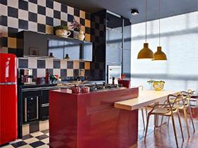 美味势不可挡  10个美式厨房设计装修图