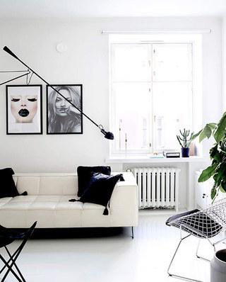 北欧风格公寓装修客厅效果图