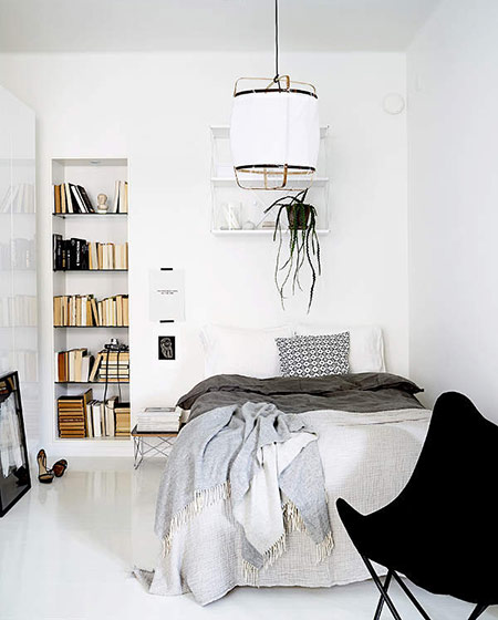 北欧风格公寓装修卧室装修图