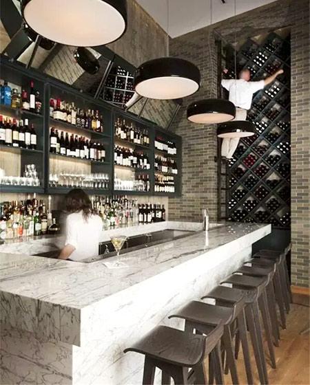 100平米酒吧装修价格效果图